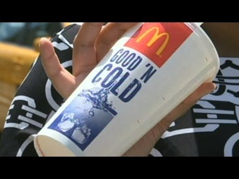McDonald's Calorie Counts, NYC Big Soda Ban