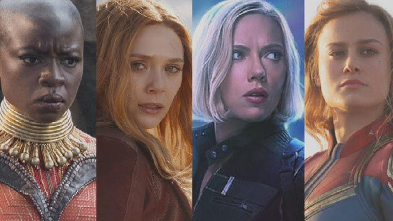 Avengers End Game - Girl power moment