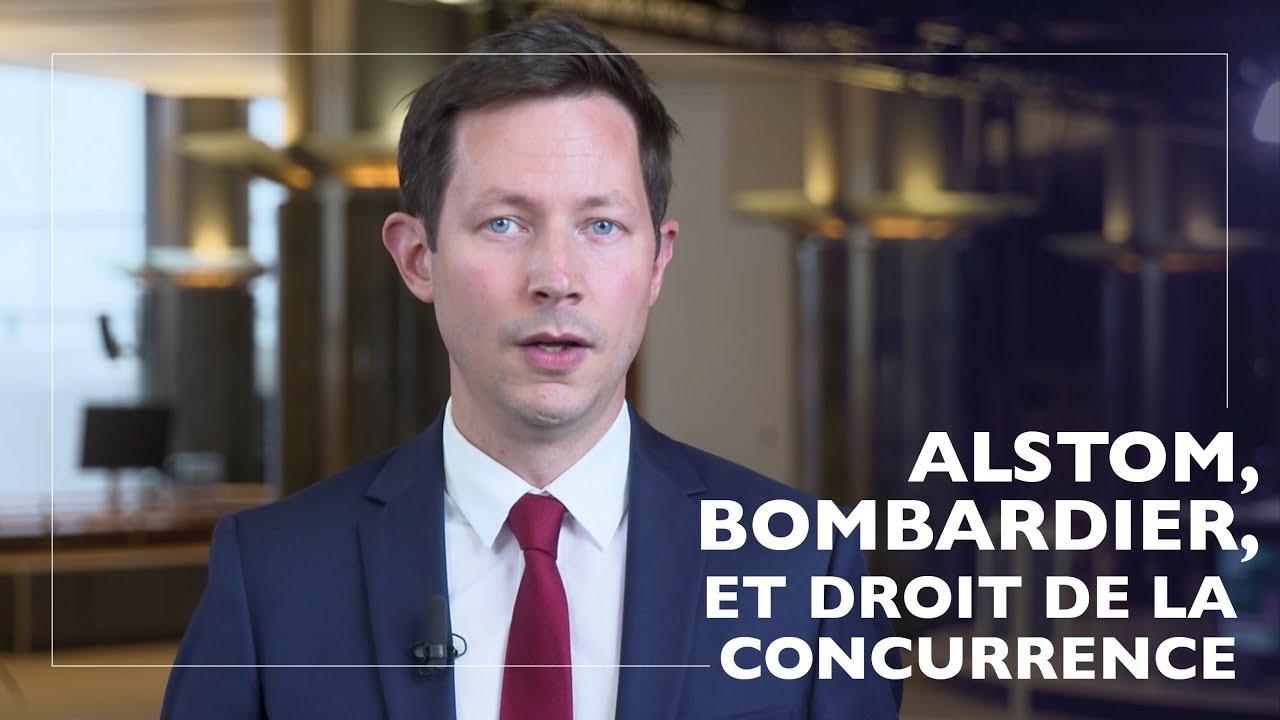Sur le blocage du projet de rapprochement Alstom-Bombardier et le droit de la concurrence de l'UE