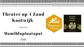 Mamihlapinatapai Concert at Theater op 't Zand Kootwijk (Theatre on the sand) 2018