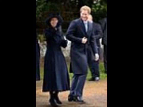 Kate Middleton & Prince William Celebrate Christmas with the Royal FAmily
