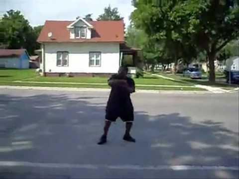 Gangsta hit by Ice Cream Truck (Klondike Bar Remix)