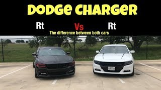 THE DIFFERENCE BETWEEN A DODGE CHARGER BLACKTOP EDITION VS A REGULAR RT