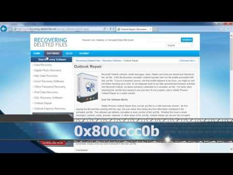 How To Fix Outlook Error 0x800ccc0b in Minutes