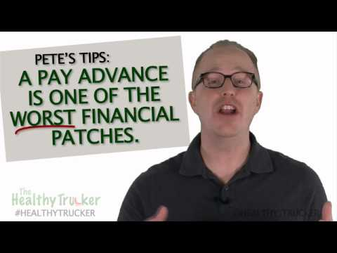 The Dangers of Easy Payday Loan Cash Advances - Money Advice For Truck Drivers