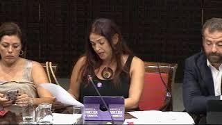 María del Río (Podemos) sobre fibrosis quística