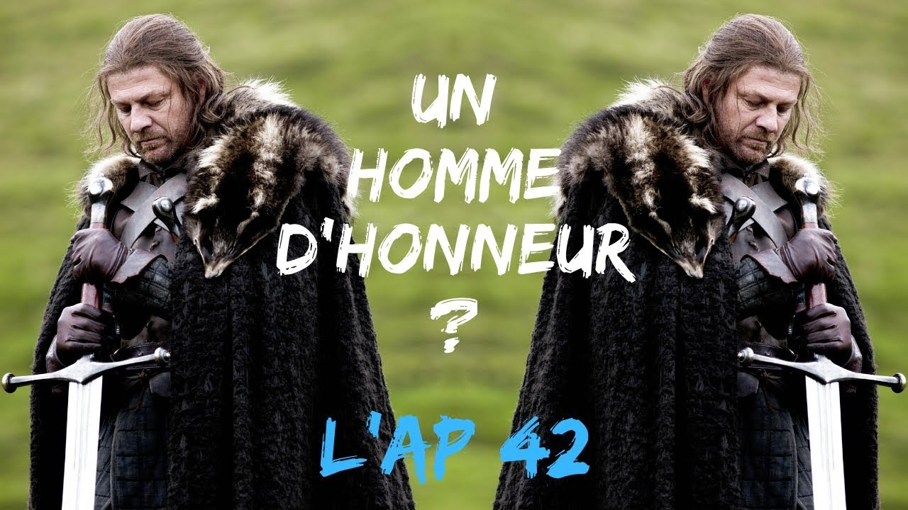 NED STARK dans Game Of Thrones - L'ANALYSE de Personnage #42