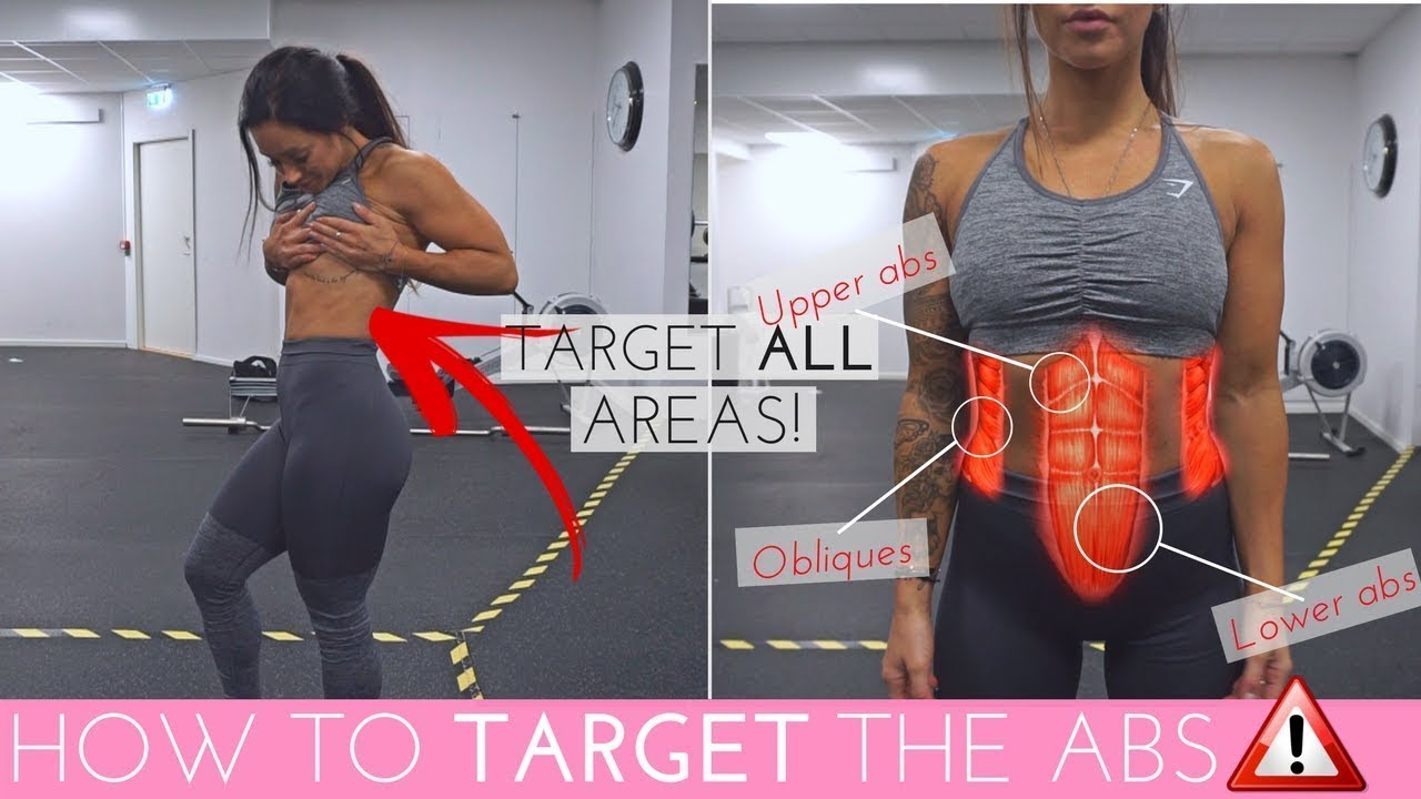 HOW TO TARGET ALL AREAS OF THE ABS | EASY SIX-PACK ...
