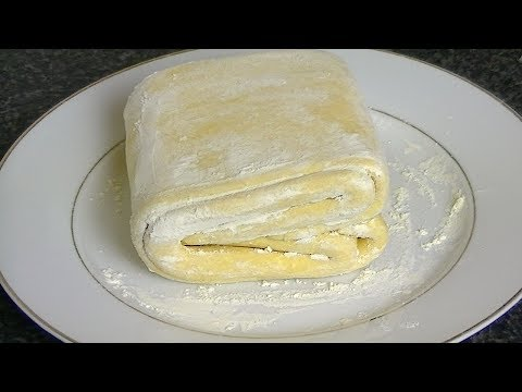 PUFF PASTRY DOUGH *COOK WITH FAIZA*