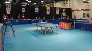 2019 CWG - Table Tennis - Men's/Women's Singles - Table 3