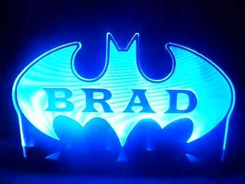 BATMAN NIGHT LIGHT - YouTube