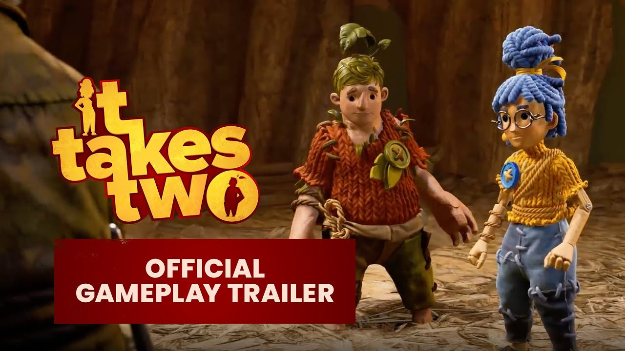 『It Takes Two』Official game trailer