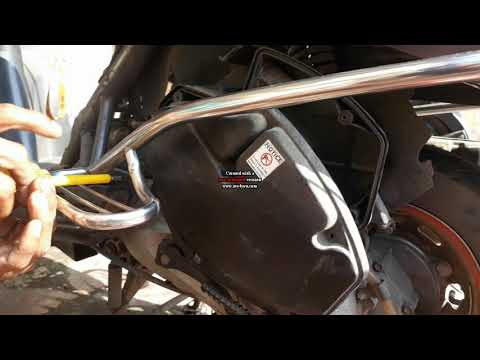 How to change Engine oil & Air filter of Honda Activa 110CC within 15 minutes..!
