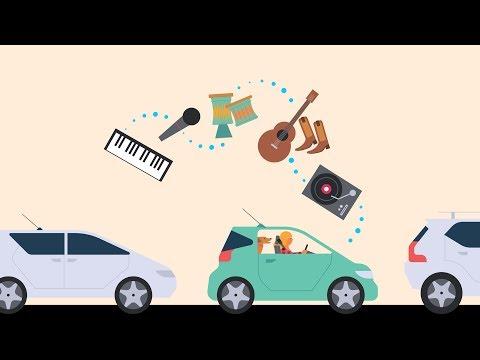 Alexa Auto – Playing Music Mp3