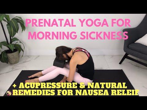 Prenatal Yoga First Trimester Plus Morning Sickness Relief