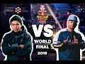 Issei  JP  vs  Dr Hill  CH    Top 8   Red Bull BC One World Final 2018
