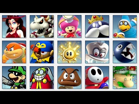 Super Smash Bros. Ultimate - All Super Mario Spirit Battles thumbnail