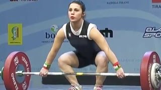 2013 European Weightlifting Championships, Women 48 kg \ Тяжелая Атлетика. Чемпионат Европы