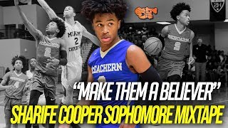"Sharife Cooper OFFICIAL Sophomore MIXTAPE | ""MAKE THEM A BELIEVER"""