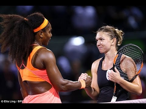 S.Williams VS Halep Highlight 2015 SF