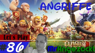 Let's Play Clash of Clans #86★ Angriffe der Clan-Member! ★COC [Mobil, HD, deutsch]