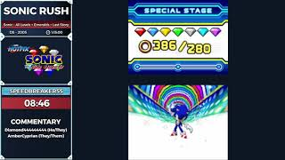 Sonic Rush by speedbreaker55 in 1:06:17 - Sonic and the Side Quests