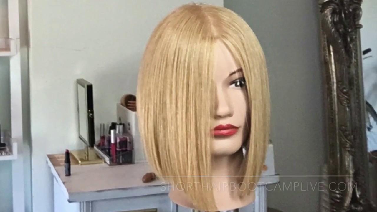 Styling Khloe Kardashian Bob Cut Short Hair Boot Camp Classes Youtube