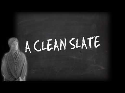 Wipe the Slate Clean - Sometimes it's necessary when starting over with your life