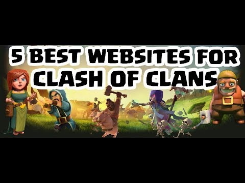 5 BEST WEBSITES OF CLASH OF CLANS EVERY PLAYER SHOULD KNOW | MOST USEFUL WEBSITES OF COC