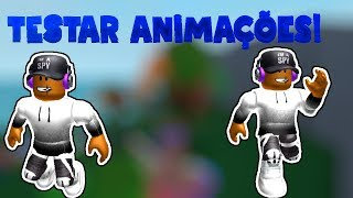 Roblox → best map of test animation!