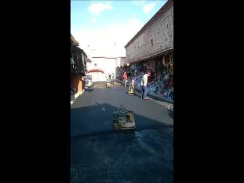 asfalt  yolu yapımı videosu youtube 05327066572