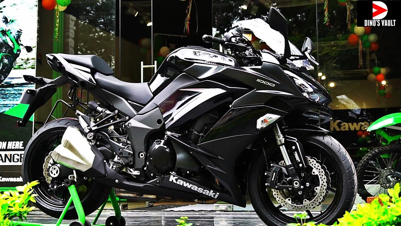 2019 Kawasaki Ninja 1000 Stunning Black Color Walkaround ...