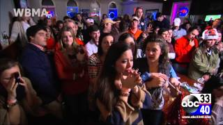 Auburn fans react to final play, loss in BCS National Championship vs. Florida State (raw, unedited)