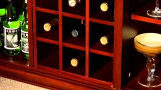 Home Styles Lafayette Home Bar Cabinet
