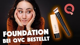 QVC Makeup Foundation 😳DOLL NO.10 HydraGel Foundation 👀Teleshopping Makeup .🤓 Hatice Schmidt