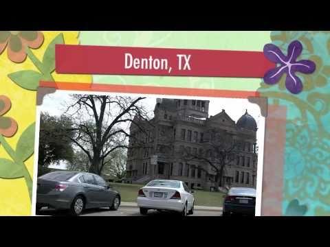 Denton, TX - city square and Ravelin Bakery