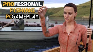 Professional Fishing Gameplay (PC HD)