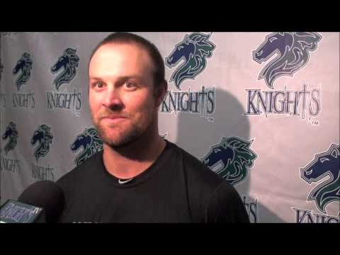 John Danks talked to the Charlotte media on May 12