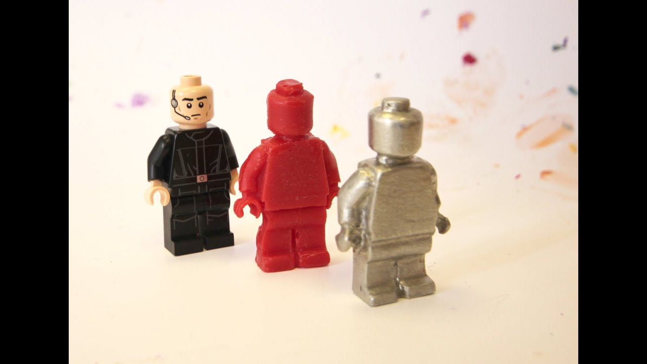 Lego Minifig Camera : How to make a lego minifig in candle wax and metal youtube