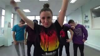 Репетиция танца Раса - Молодым | бонус видео (Танцующий Чувак)