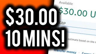 Earn $30.00 in 10 MINUTES! - Follow This EASY Copy & Paste Method and Make Money!