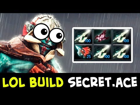 LOL build but works — Secret.Ace Huskar 4x Halberds