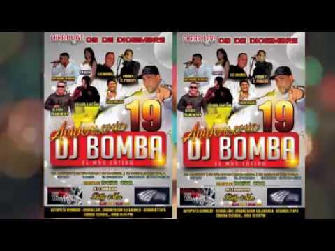 PUBLICIDAD! DJ DARREL INVITADO AL ANIVERSARIO 19 DE DJ BOMBA EL MÁS LATINO