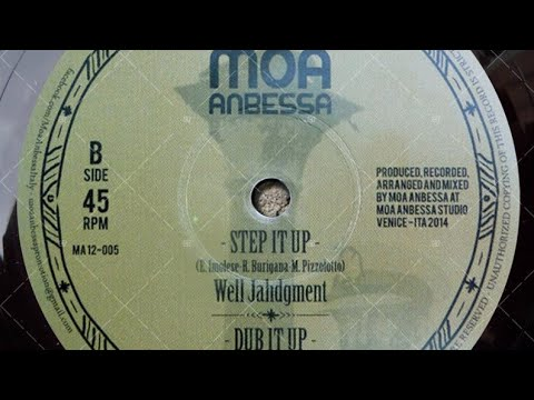 Well Jahdgment & Moa Anbessa - Step It Up + Dub it up (YouDub Sélection)