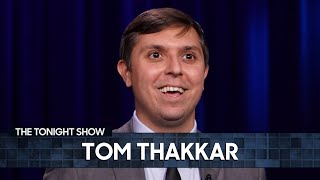 Tom Thakkar: Old People Stories and Twitter Bans   The Tonight Show Starring Jimmy Fallon