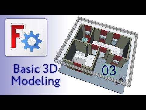 FreeCAD Arch - Basic 3D Modeling - 03