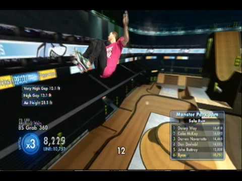 Skate 3 Monster Park