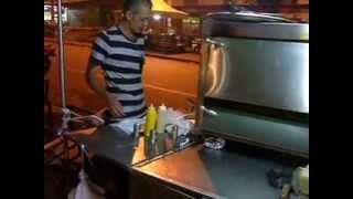 Pizza Street Vendor Absolutely Delicious San Javier, Medellin Colombia #2