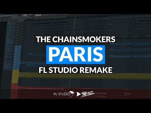 The Chainsmokers - Paris (Instrumental/FL Studio Remake)
