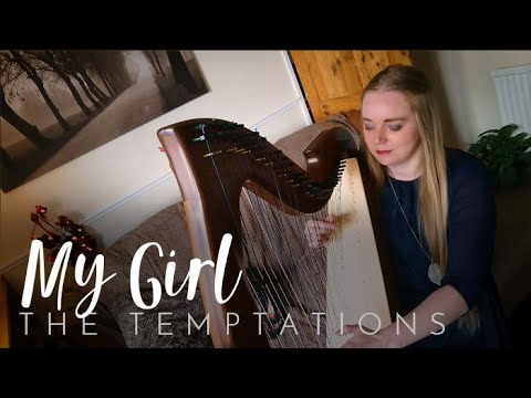 My Girl - The Temptations (Harp Cover)